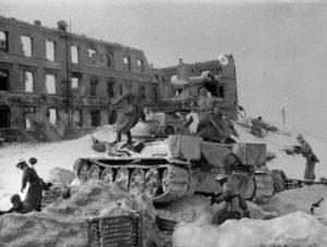 19 ноября 1942 года – Начало контрнаступления советских войск  под Сталинградом.